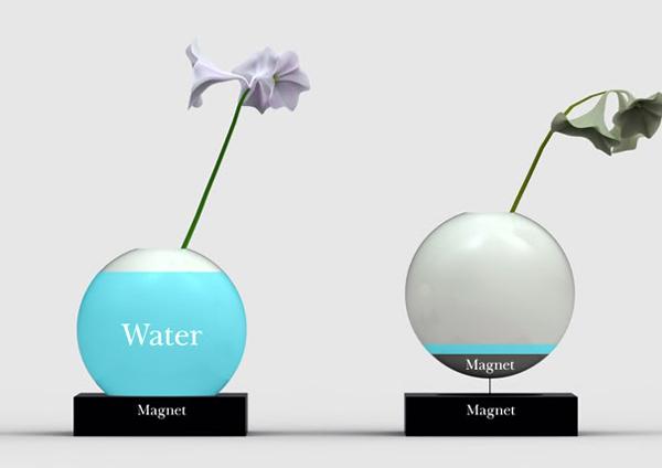 花瓶缺水检测器