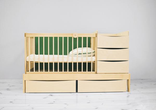Smart Kid 与宝宝一起成长的婴儿床-玩意儿