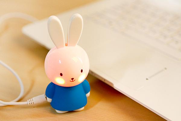 羞羞兔便携音箱蓝色