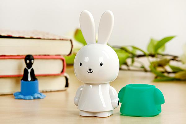 羞羞兔便携音箱绿色