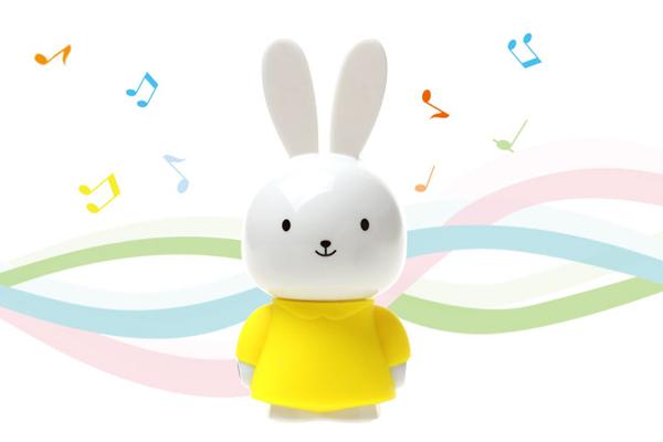 羞羞兔便携音箱黄色