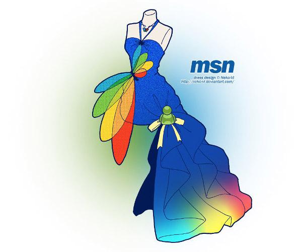 MSN 裙子