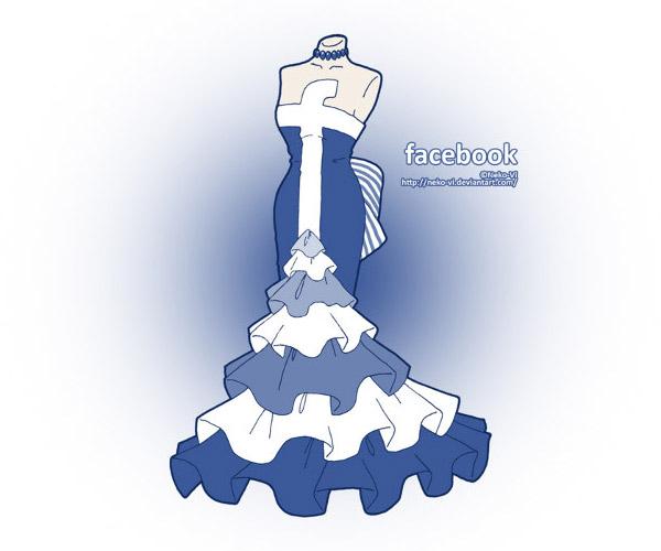 Facebook 裙子