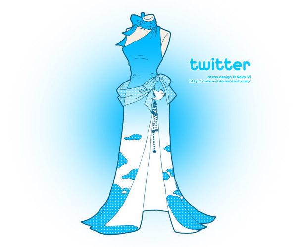 Twitter 裙子