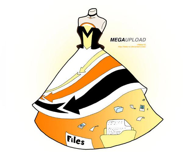 Megaupload 裙子