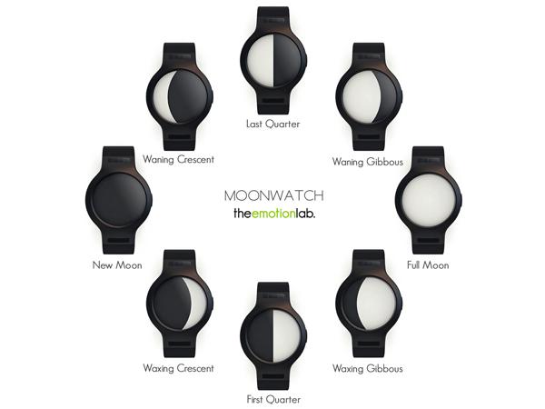 Moon Watch 手表告诉你月亮的位置