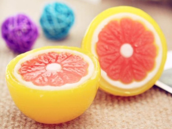 橙子水果香皂
