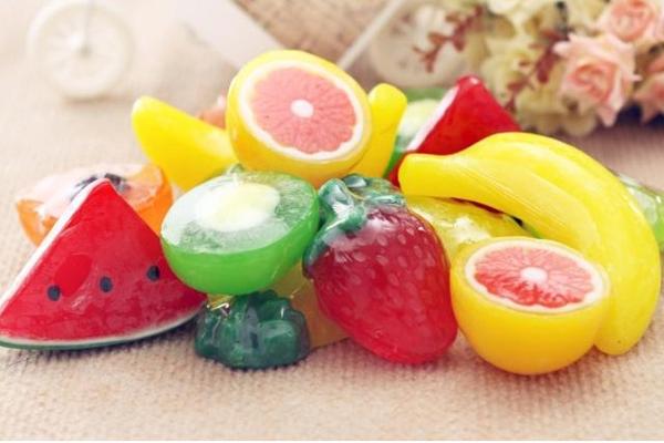 各种水果香皂
