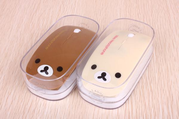 轻松熊无线鼠标包装