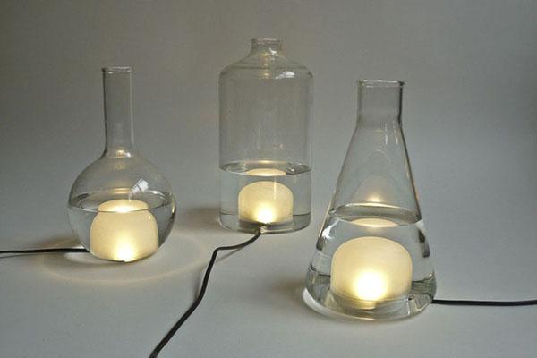 烧瓶彩色台灯(五)