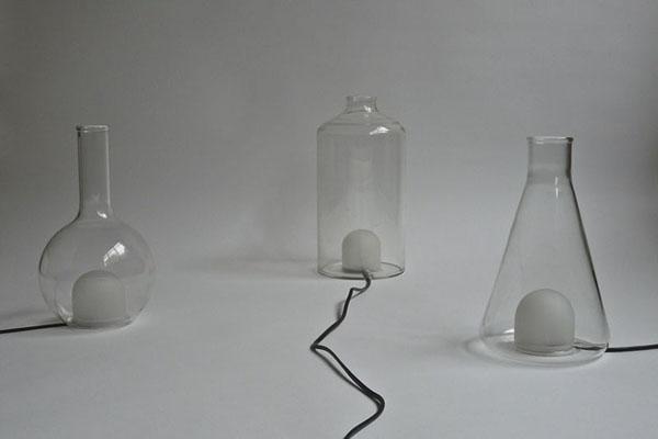 烧瓶彩色台灯(六)