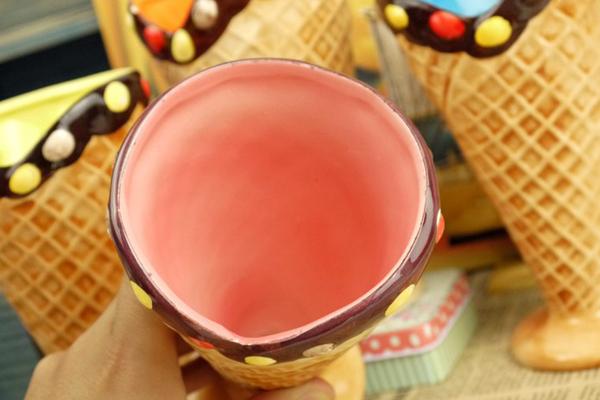 冰淇淋陶瓷水杯(二)