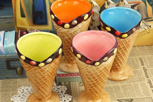 冰淇淋陶瓷水杯(三)