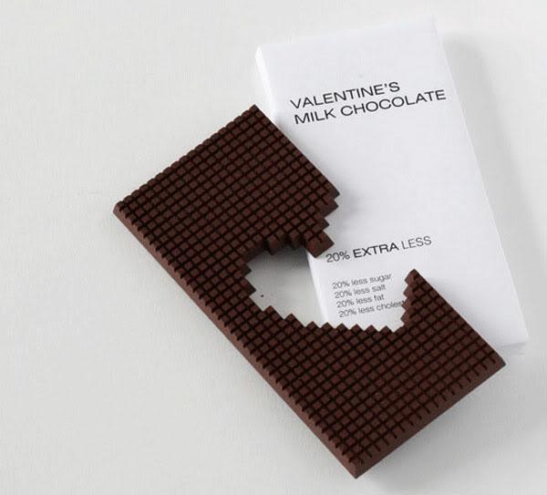 心形巧克力包装