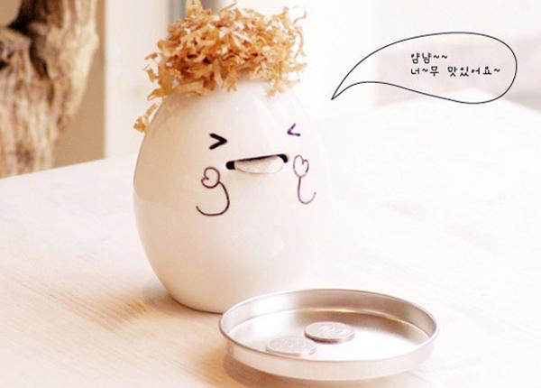 鸡蛋存钱罐(三)