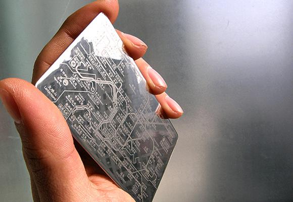 镜面地铁卡片(四)