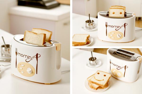 会微笑的面包机-玩意儿