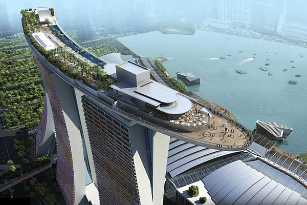 折叠车价格Marina Bay Sands 空中花园-玩意儿