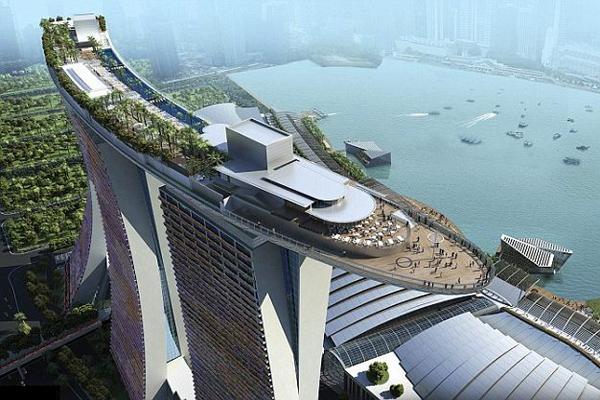 Marina Bay Sands 空中花园
