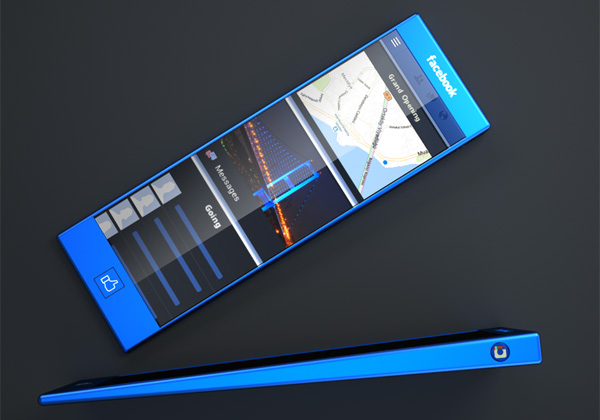 Facebook 概念手机