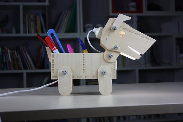 小狗造型台灯(二)