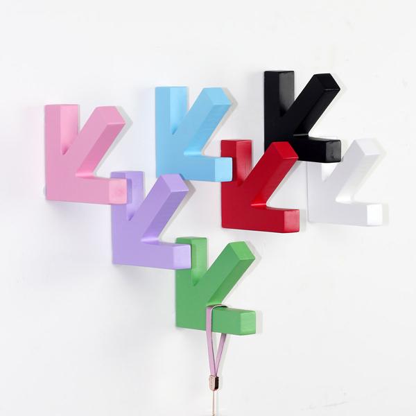 墙壁箭头挂钩(三)