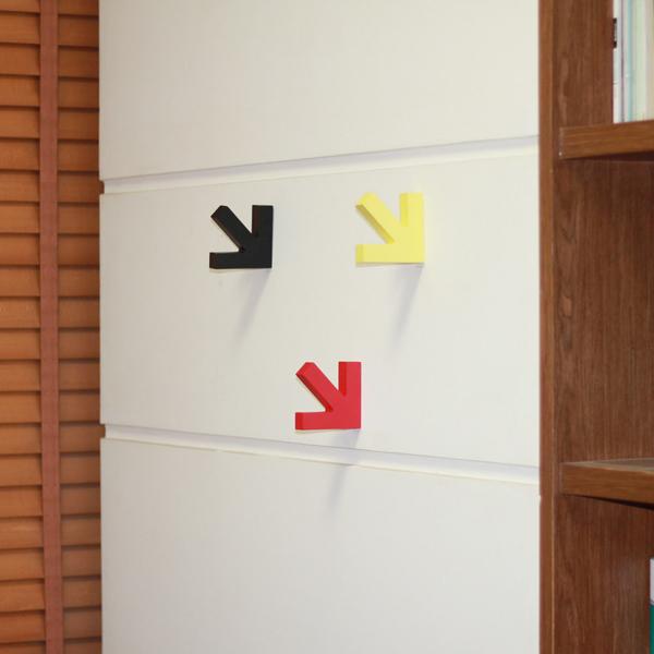 墙壁箭头挂钩(五)