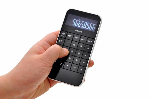 iPhone 样式的计算器