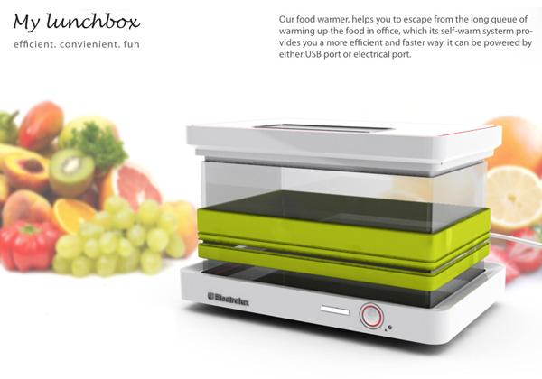 My LunchBox 微波加热器