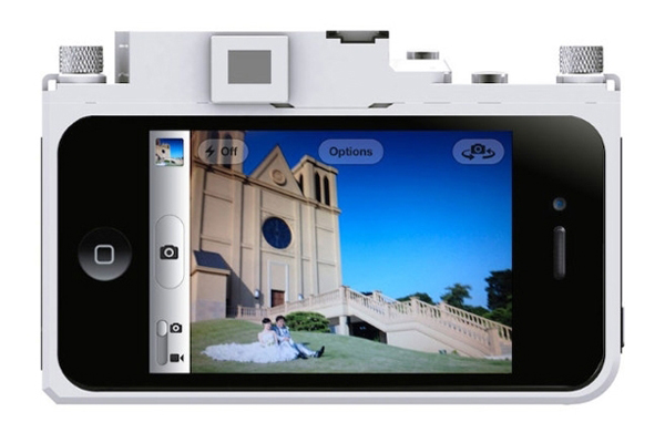 iPhone 上的 Leica 相机壳(二)