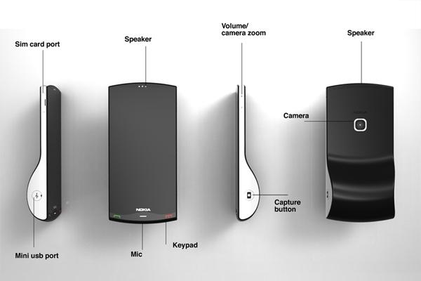 Nokia Kinetic 诺基亚概念手机