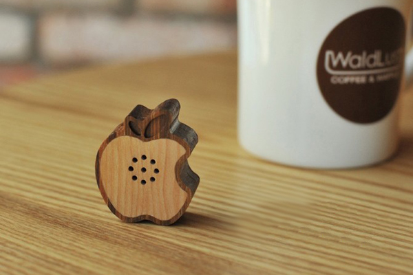 Wooden Fruit 纯木苹果音箱