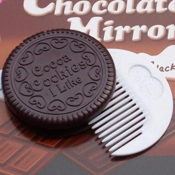 巧克力饼干化妆镜(三)