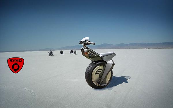 独轮电动摩托车