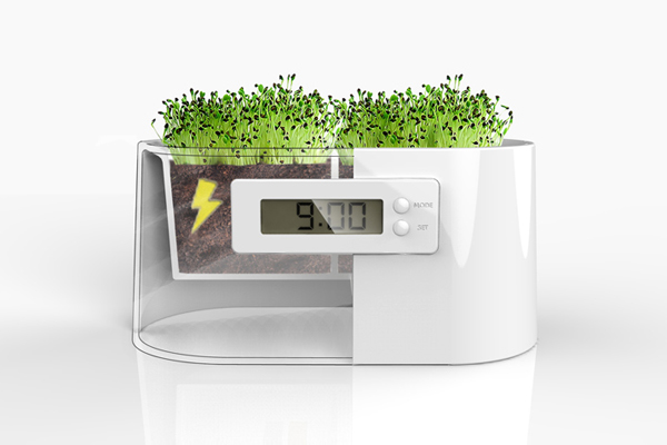 Mini Power Station 植物发电系统