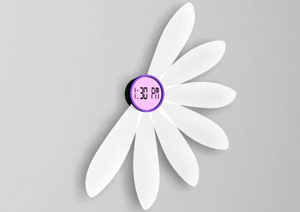 可以开花的壁挂钟