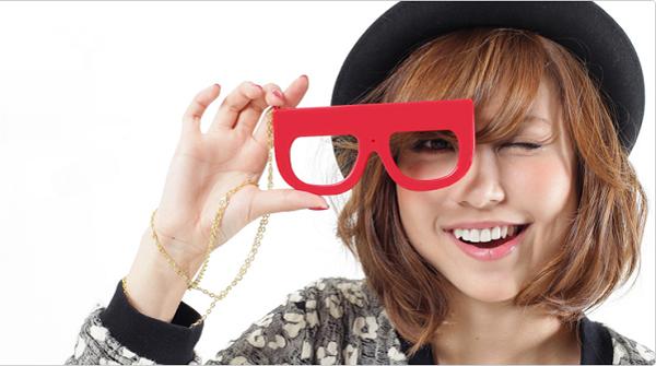 Megane Camera 相机眼镜红色