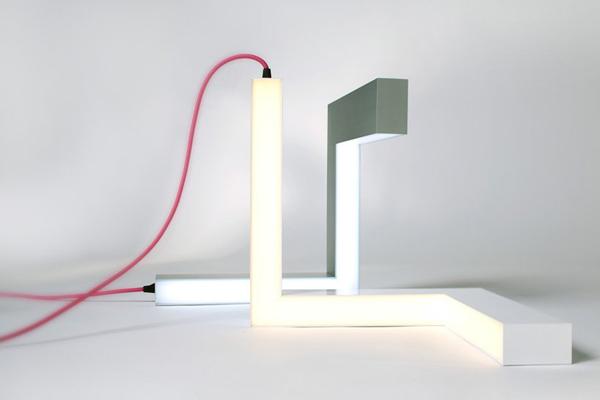 Lamp E 不规则形状的LED灯