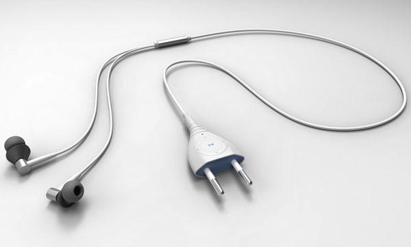 插头型的MP3播放器