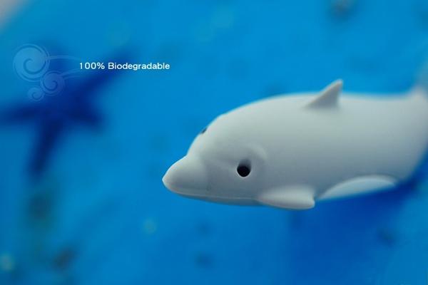 海豚造型的创意U盘