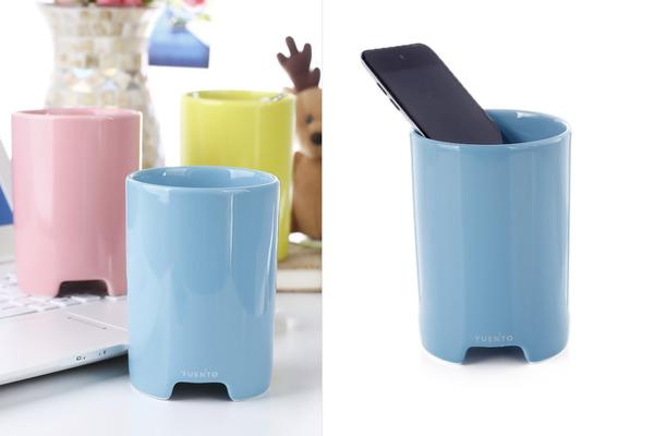 马克杯样式的播放器多种颜色
