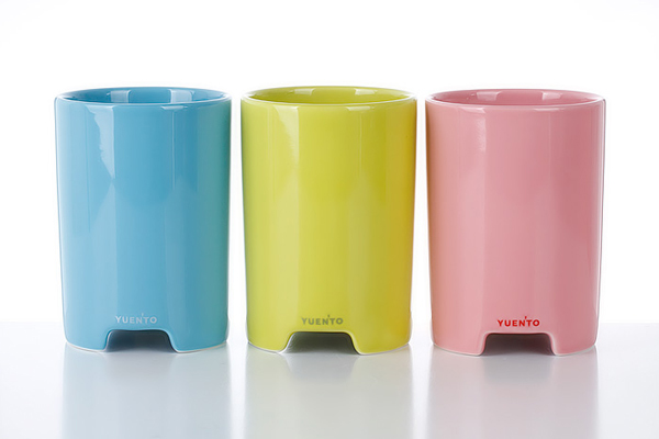 马克杯样式的播放器颜色展示