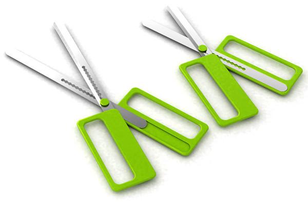 可调节长度的剪刀