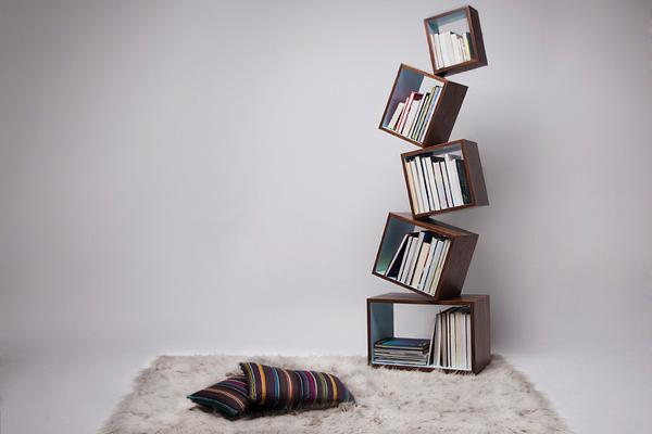 创意特的平衡书柜-玩意儿