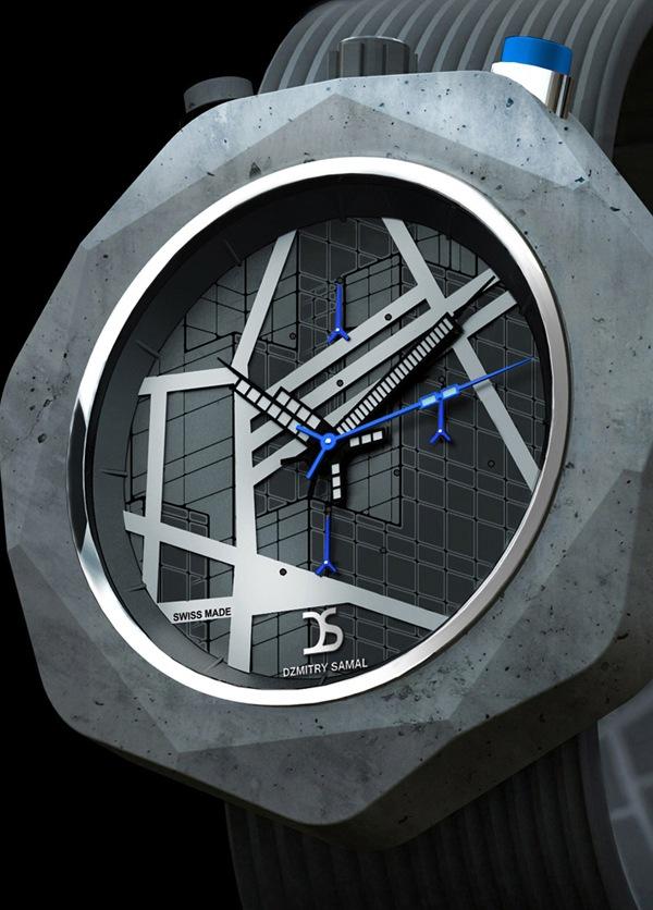 时尚霸气的混凝土手表(二)