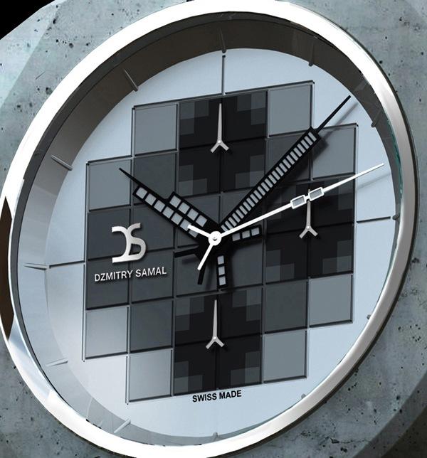 时尚霸气的混凝土手表(五)