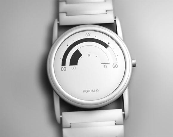 KoKo Muo 手表 改变时间的读数方式