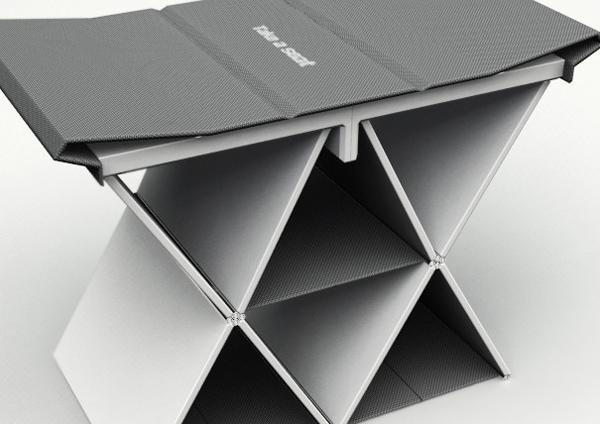 折叠书本凳子(二)