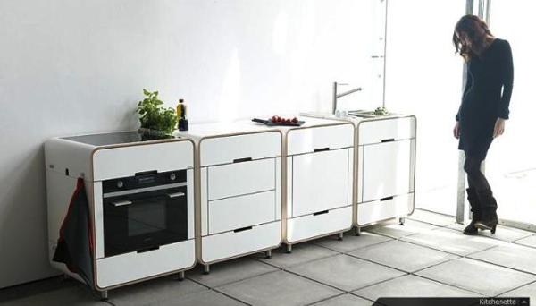 组合的厨房模块系统