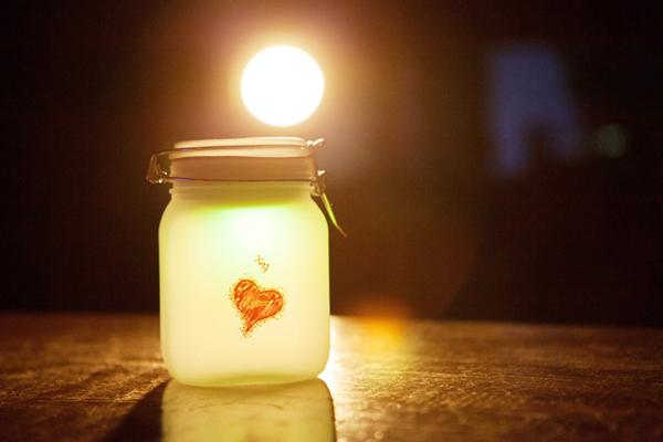 创意礼物 阳光罐子